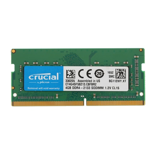 Crucial 4GB Memory for Laptop Notebook CT4G4SFS8213