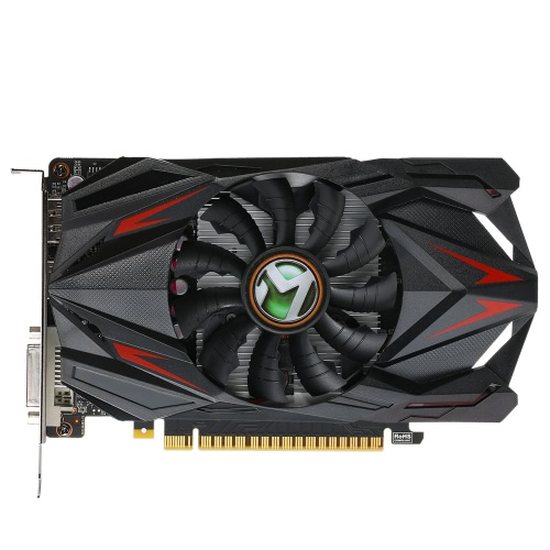 MAXSUN GTX1050 2G Gaming Video Placa de Vídeo 1354-1455 / 7000MHz 2GB / 128Bit GDDR5 DVI + HDMI + DP