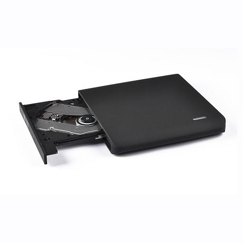 Externo 8X USB 2.0 Gravador de DVD-RW / CD-RW portátil Gravador de disco óptico Rewriter CD DVD Player de ROM para computador portátil Desktop