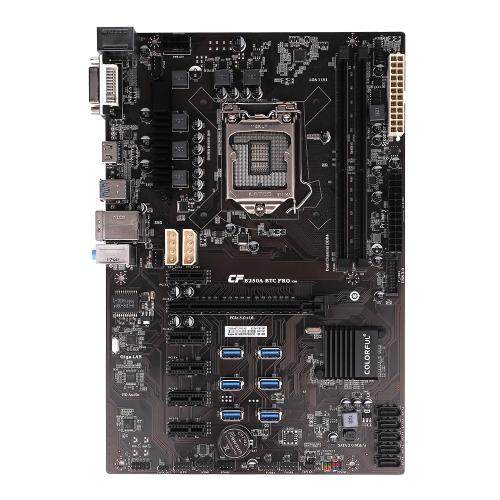 Kolorowy panel systemowy płyty głównej C.B250A-BTC PRO V20