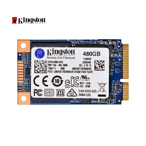 Kingston UV500 SUV500MS/480G MSATA SSD Internal Solid State Drive Hard Disk