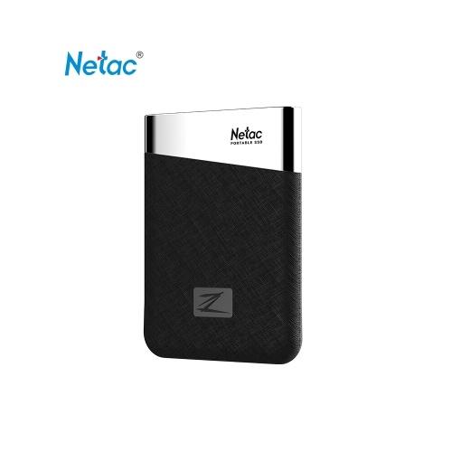 Netac Z6 Portable SSD Mini Unità a stato solido esterna 960 GB Type-c USB3.1 Super Speed