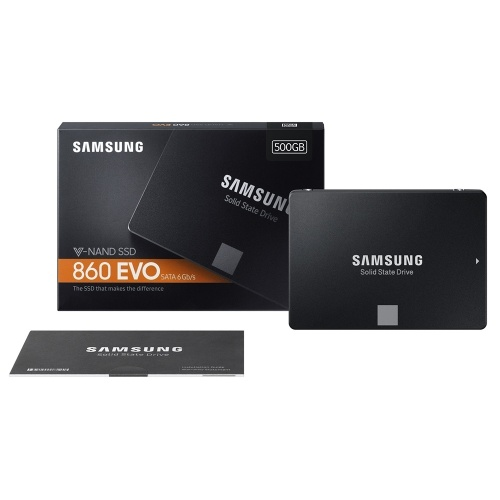 SAMSUNG MZ-76E500 SSD 860 EVO 2.5inch SATAIII 500GB Internal Solid State Disk HDD Hard Drive SATA3 Laptop Desktop PC MLC SSD