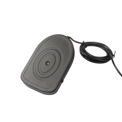 USB Switch Pedal Control Tastatur Maus Fußschalter Schwarz für PC Game Mouse