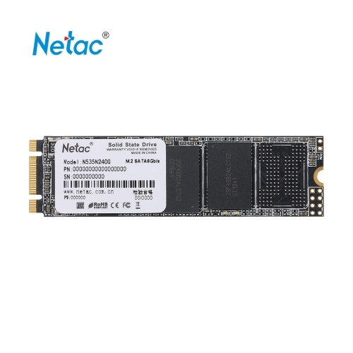 Netac N535N M.2 2280 SSD SATAIII 6Gb/s 240GB PCIe Gen3 3D MLC/TLC NAND Flash Solid State Drive