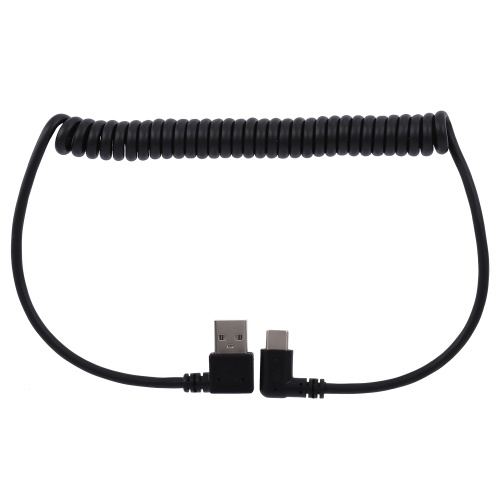 Type C Power Cable Spring Power Line 150cm Charging Cable Data Cable for Xiaomi Huawei