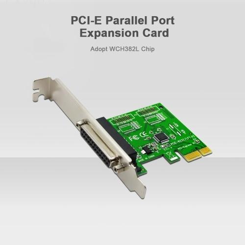Карта расширения параллельного порта PCI-E Адаптер конвертера порта PCI Express в LPT для POS-принтера Tax