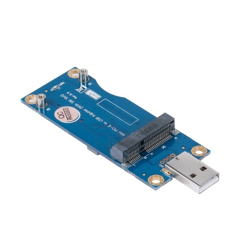 Mini PCI-E to USB Adapter Card WWAN Test Converter Adapter Card 3G/4G Module with SIM Card Slot