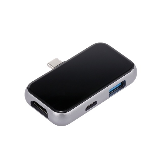 Adattatore 3IN1 Type-C HUB 4K HDMI USB 3.0 PD Caricatore Convertitore multifunzione Plug & Play