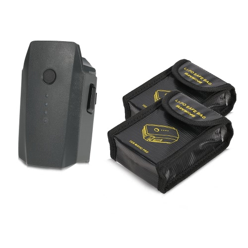 DJI Mavic 11.4V 3830mAh 3S bateria para DJI Mavic Drone Pro FPV com 2pcs bateria à prova de explosão Bags