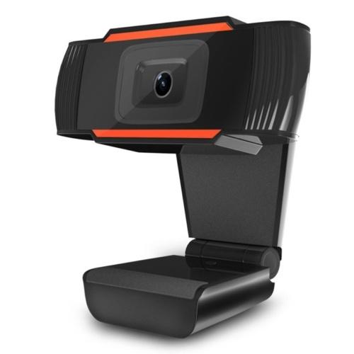 720P Webcam Messa a fuoco automatica USB Web Camera Microfono incorporato per la riduzione del rumore per desktop portatile