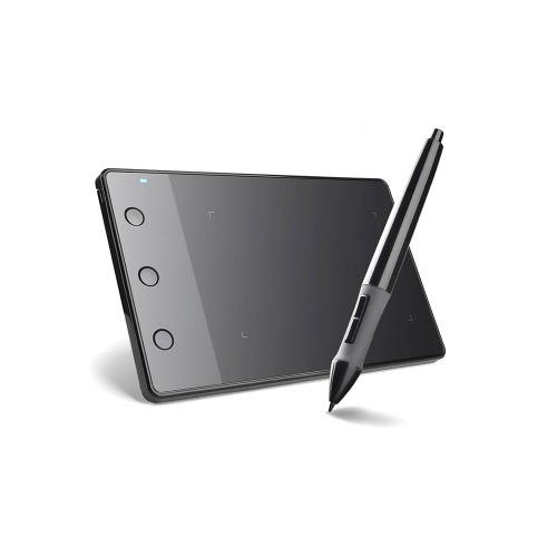 Huion H420 Professional Graphics Drawing Tablet with 3 Shortcut Keys 2048 Levels Pressure Sensitivity 4000LPI Pen Resolution
