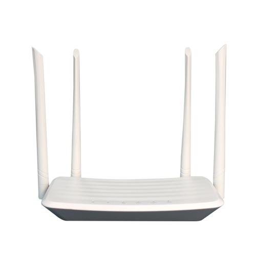 Roteador sem fio 4G LTE Roteador CPE de alta potência 300 Mbps com slot para cartão SIM Antenas externas Sinal forte Versão UE