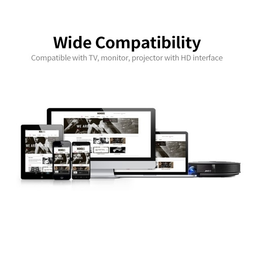 G5 2.4G Wireless Display Receiver Wireless Dongle 1080P Screen Sharing Wireless Dongle Easy Connection Plug and Play Black