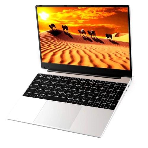 15.6 inch Portable Business Laptop with Intel Celeron J3455 Processor 1920*1080 Screen 8GB+128GB Memory