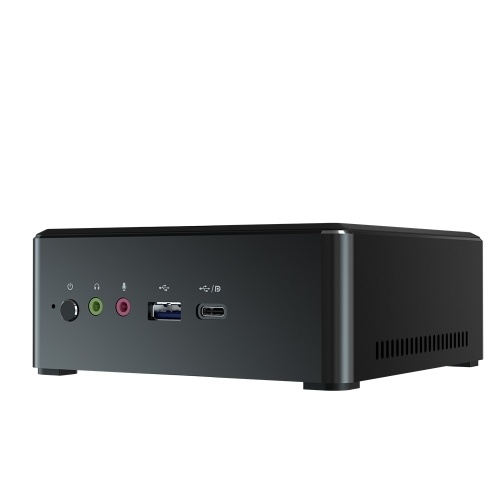 T-bao MN35 Mini PC with AMD R5 3550H Processor Radeon Vega 8 Graphics GPU 4GB+128GB Memory Windows 10 Operating System EU Plug