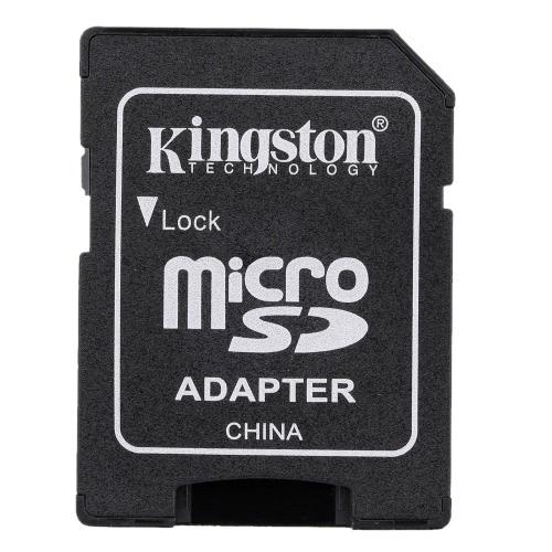 Kingston TF Flash MicroSD cartão de memória de tamanho completo SDHC Adaptador caso para câmera de celular