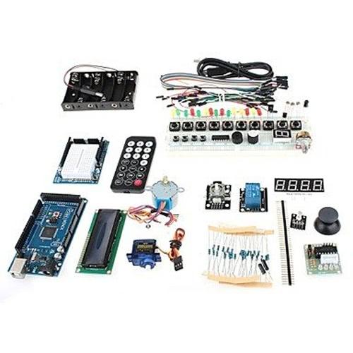 TJ2560 Placa de expansão, placa de desenvolvimento principal aprendizagem + conjunto de experimentação para Arduino - azul + preto