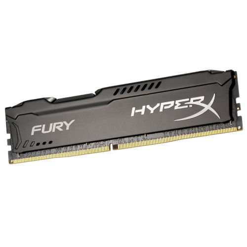 Kingston HyperX FURY 8GB Desktop Memory 2400MHz DDR4 CL15 DIMM 1.2V Low Voltage 288-Pin HX424C15FB/8