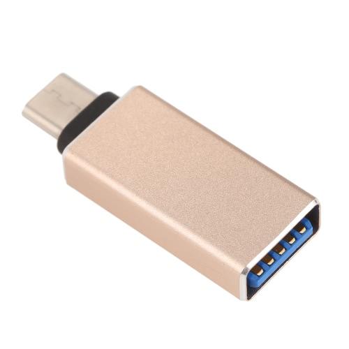 USB 3.1 High Speed USB-C typu C męski na USB 3.0 Female Adapter / Konwerter / Złącze dla MacBook 12
