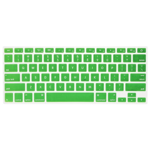 Silicone Anti-dust Ultra-thin Laptop Keyboard Protective Film Cover Sticker Skin US Layout for MacBook Air 11.6