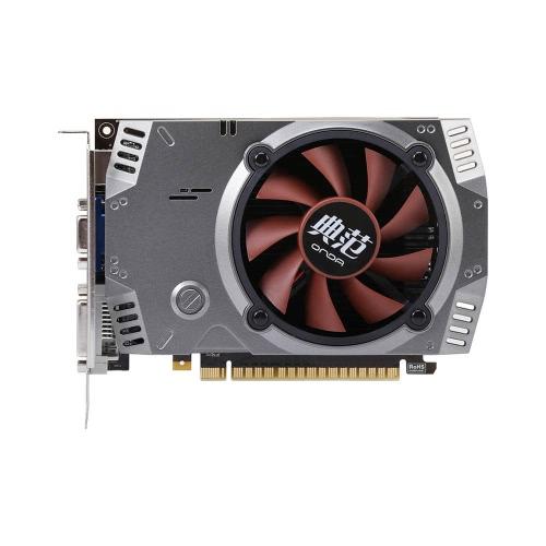 Onda NVIDIA GeForce GT 730 GPU 2GB 64bit 2048MB Gaming DDR5 PCI-E 2.0 placa gráfica de vídeo DVI + HD + Porta VGA com um ventilador de refrigeração