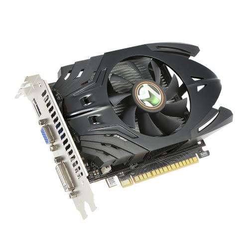 Placa gráfica de vídeo Maxsun Geforce GT730 Poder Martelo PLUS 2G Gaming 700 / 1070MHz 2G / 128 bits DDR3 PCIE HDMI + DP + porta DVI
