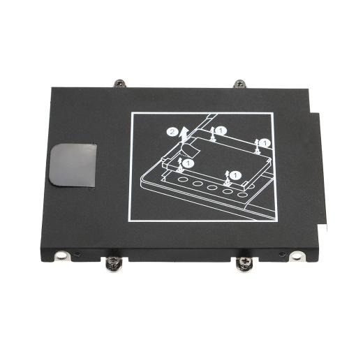 Discos rígidos SATA HDD Caddy para HP EliteBook Folio 9470M Série 9480M com parafusos