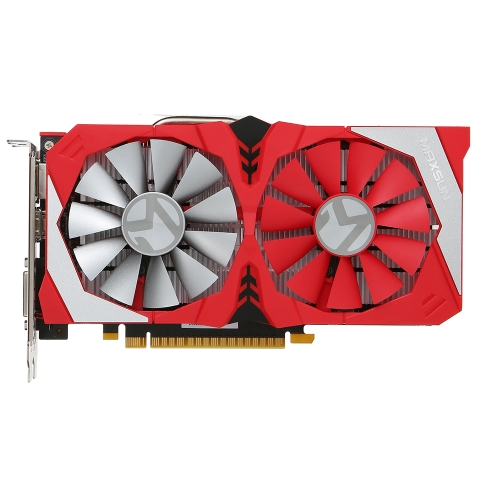 MAXSUN Scheda video grafica NVIDIA GeForce MS-GTX1050 2G 7000 MHz GDDR5 128 bit PCI-E 3.0 con porta DVI HDMI DP