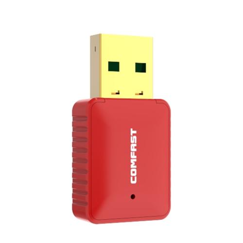 COMFAST CF-WU925A Adaptador WiFi de Banda Dupla 2.4G / 5G 11AC 600Mbps