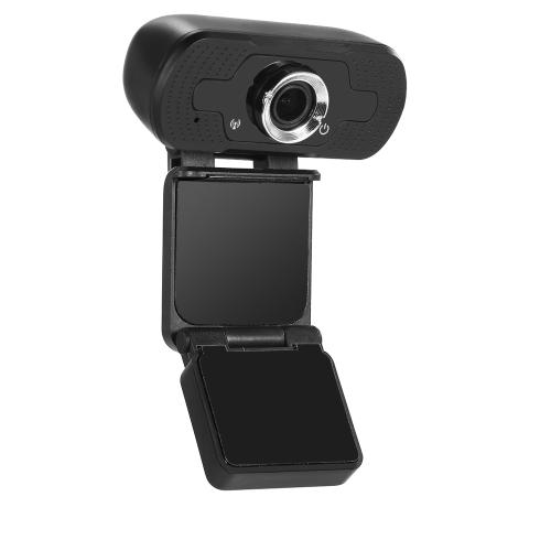 Videocamera Web USB Webcam 1080p Webcam HD Fotocamera incorporata Microfono fonoassorbente Webcam HD Chip da 3 MP Progettato per videochiamate HD e registrazione