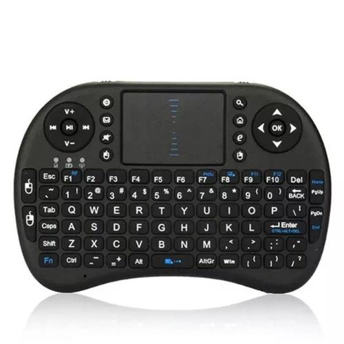 Mini i8 Tastiera Qwerty wireless Tasti di controllo remoto multimediali e controllo di gioco PC Touchpad Tastiera portatile per PC Pad Scatola TV Android Smart TV