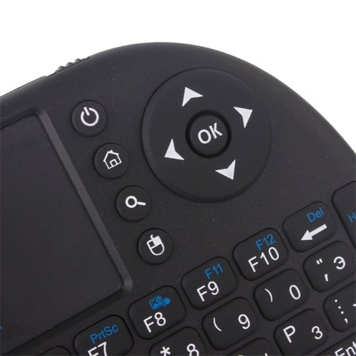 Mini i8 Wireless Qwerty Keyboard Multimedia Remote Control Keys and PC Gaming Control Touchpad Handheld Keyboard for PC Pad Android TV Box Smart TV