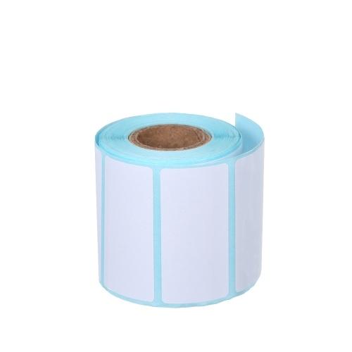 Autoadesivo dell'etichetta termica 10 rotoli autoadesivo resistente impermeabile a prova di vino 1.57 * 0.78in / 40 * 20mm resistente al vino