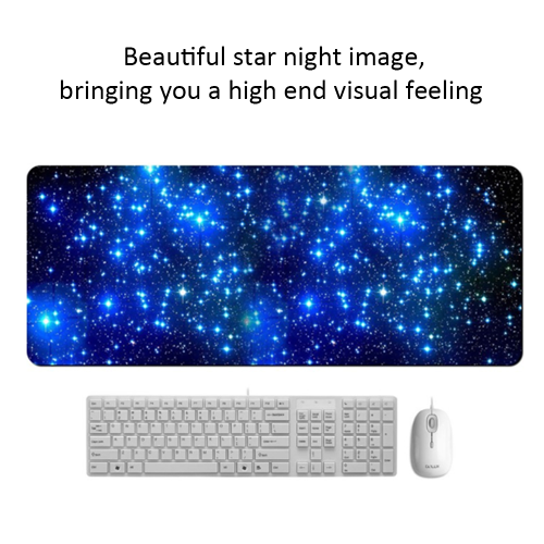 Starry Sky Gamer Gaming Keyboard Mouse Mat Non-Slip Desktop Laptop Computer Pad