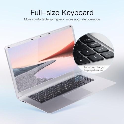 T-bao X8S 15.6 inch Ultra-thin Laptop with 1080P IPS Screen Celeron J3455/J4115/J4125 8GB Memory 128GB SSD Portable Laptop US Plug