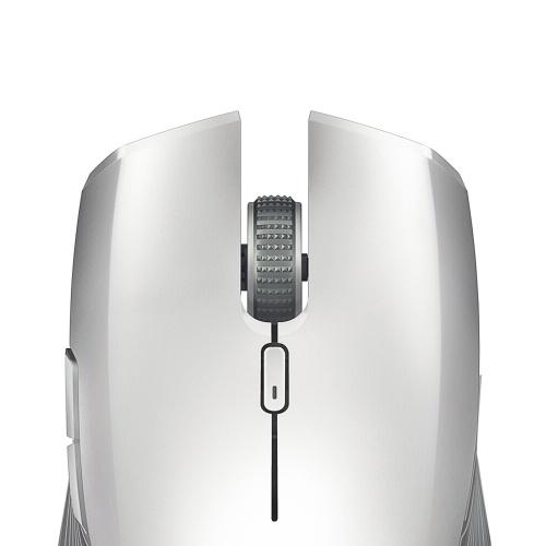 Беспроводная игровая мышь Razer Atheris с поддержкой Bluetooth и оптическими сенсорами 7200 DPI 2,4 ГГц для работы и игр Silver