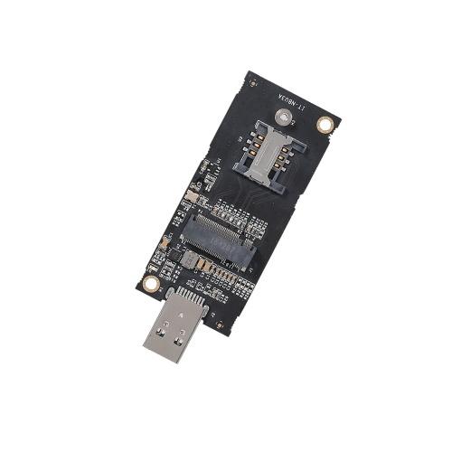 NGFF M.2 Ключ B в USB 3.0 Адаптер Конвертер платы для настольных ПК Настольный ПК Добавить на карту со слотом для SIM-карты фото