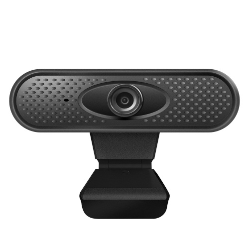 720P High-definition Web Camera Angle Adjustable Stable Base with Microphone Wide Compatibility No Driver Video Call for Laptop