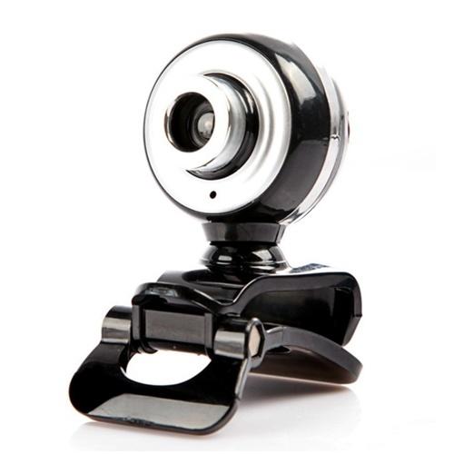 Videocamera Web ad alta definizione USB 2.0 da 12 MP con base a clip per microfono 30FPS senza guida per computer portatile