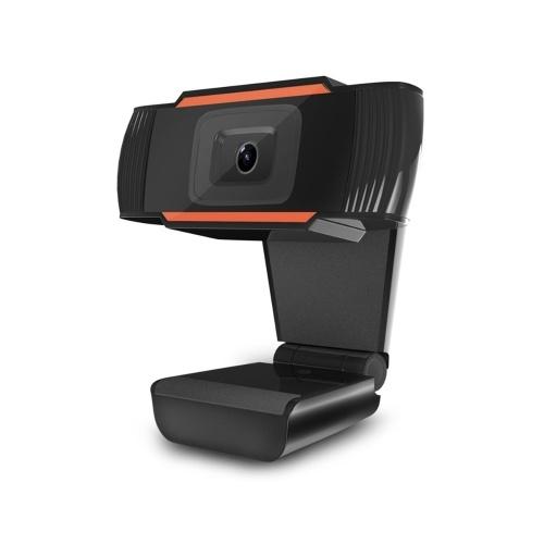 Videocamera USB per webcam Videocamera HD 1MP 720P ad alta definizione Videocamera Plug and Play Autofocus con microfono a cancellazione di rumore per computer portatile