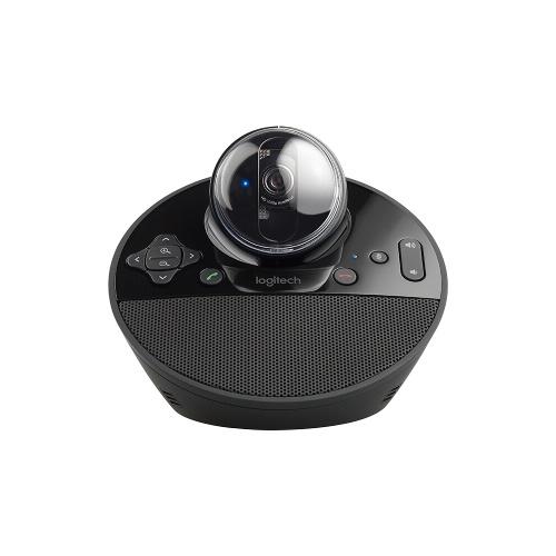 Logitech BCC950 Konferenzkamera Full HD 1080p Video-Webcam HD-Kamera Videokonferenz-Webcam mit Fernbedienung