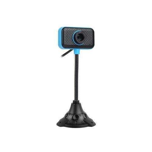 Webcam PC 480P Full HD Web Cam USB Laptop Desktop Webcam ad alta definizione 30fps Fotocamera Microfono a riduzione del rumore Plug & Play