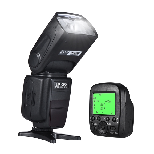 TRIOPO G1500 2.4G HSS 1/8000s GN58 TTL Wireless Master Slave Flash Speedlite + Trigger for Sony A77II A7RII A7R A58 A99 ILCE600L