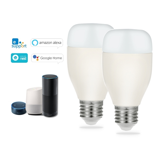 OWSOO Smart WiFi LED Light Bulb (2 Packs)