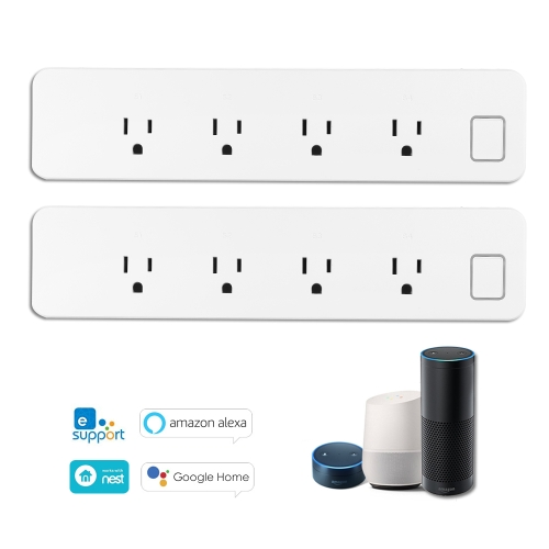 OWSOO WiFi Smart Power Strip Smart Surge Protector