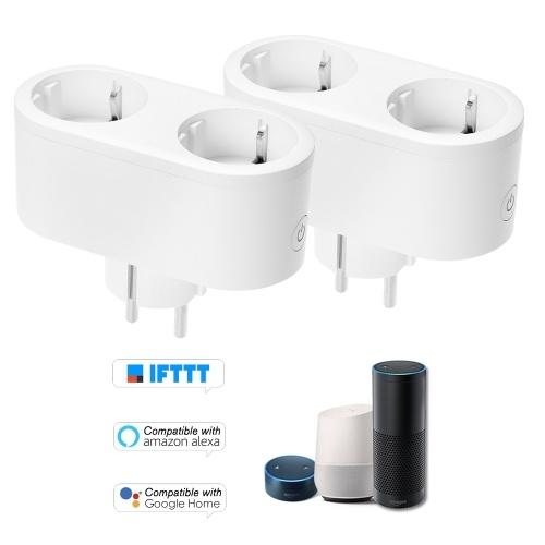 2PCS Smart WiFi Socket EU Type E