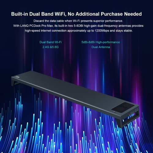 PCDOCK Pro Max Intelligent Monitor Stand Multifunctional Desktop Laptop Holder Bracket, TOMTOP  - buy with discount