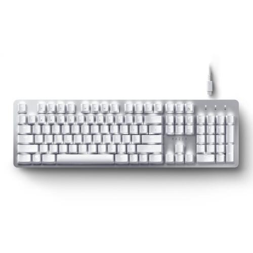 Механическая клавиатура Razer Pro Type Bluetooth + Двухрежимная беспроводная клавиатура 2,4 ГГц с механическими переключателями Razer Orange Серебристый