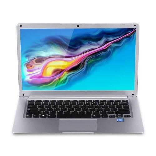 14,1 Zoll Laptop Intel J3355 Prozessor 6 GB DDR3 64 GB SSD 1920 * 1080 Auflösung Tragbarer Business Office Laptop Silber EU-Stecker